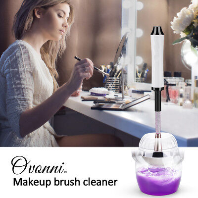 Ovonni Electric Makeup Brush Cleaner Dryer Machine Brush Cleaner Spinner 360°