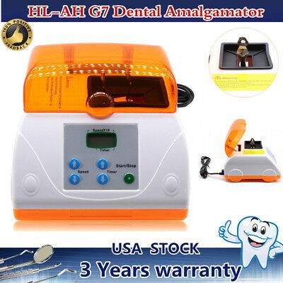 Dental Digital High Speed Amalgam Capsule Mixer Amalgamator LCD Display HL-AH G7