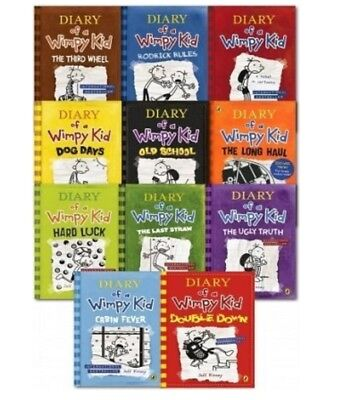 Diary of a Wimpy Kid Book Collection 1-11 (Digital PDF, EBook) by Jeff Kinney