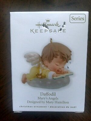 MARY'S ANGELS: DAFFODIL (#23 in series), Hallmark Ornament, 2010