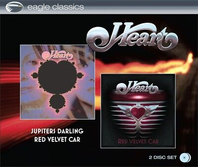 HEART - Jupiters Darling & Red Velvet Car, 2 Audio-CDs