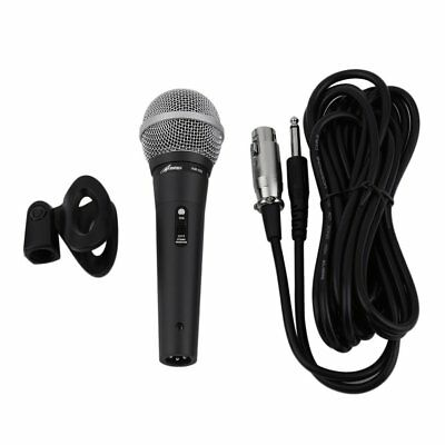 Handheld Cable/Wired Pro Microphone for Audio Amplifier with 1/4inch Cable US
