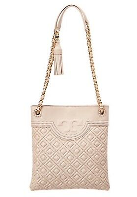 f4cafb0508c5 TORY BURCH FLEMING Swingpack Crossbody Shoulder Bag BEDROCK NWT  428 ...