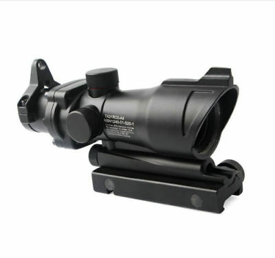 ACOG RC 1X32 Fiber Optic Red/Green Dot Sight Scope With QD Mount For Hunting