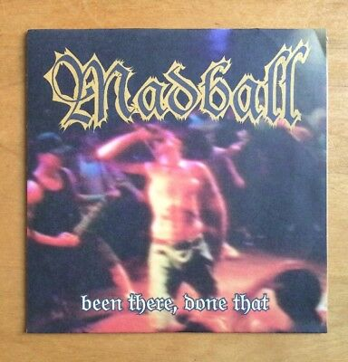 """7"""" Vinyl Single MADBALL 1998 Been There, Done That 