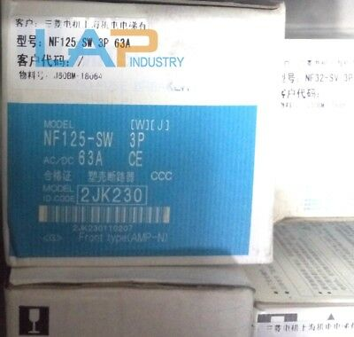 1PC New For Mitsubishi Circuit Breaker NF125-SW 3P 63A