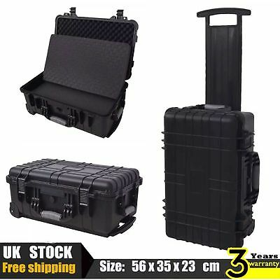 Waterproof Wheel Equipment Tool Hard Trolly Carry Case Box Storage Protective UK