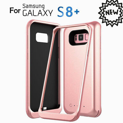 For Samsung Galaxy S8 Plus 5000mAh Battery Charger Case Backup Battery Pack Slim