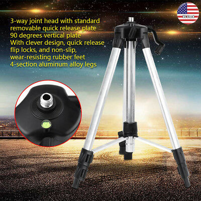 Tripod Stand Laser Aluminium Alloy Self Leveling Laser Level Measurement Tool US