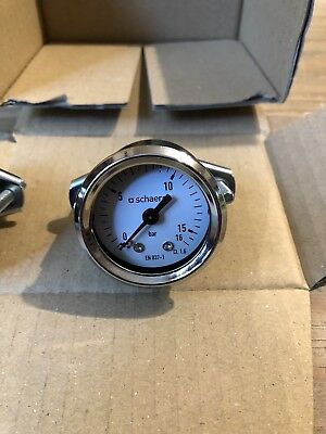 Schaerer Coffee Machine Pressure Gauge Brand New