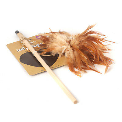 Brand New Rosewood Jolly Moggy Cute Fun Feather Catnip Cat Kitten Toy 11080