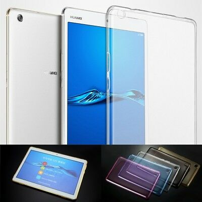 """Shockproof Silicone Case Cover For Huawei MediaPad T3 7"""" 8"""" 10 M3 Lite M5 Tablet"""