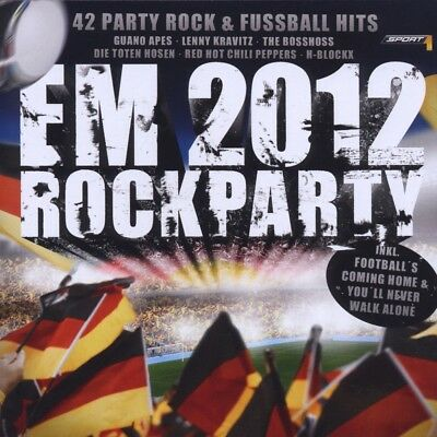 Warner Music - EM Rockparty 2012: 42 Party Rock und Fußball Hits