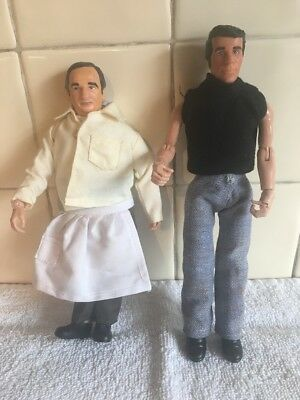Happy Days 2004 Figures Bundle Fonzie Arnold Henry Paramount Pictures