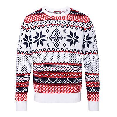 Adults Nordic Christmas jumper  Retro Novelty Vinatage Sizes Xmas Santa