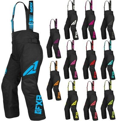 FXR Racing F19 Clutch Insulated Kids Winter Sports Snowboard Snowmobile Pants