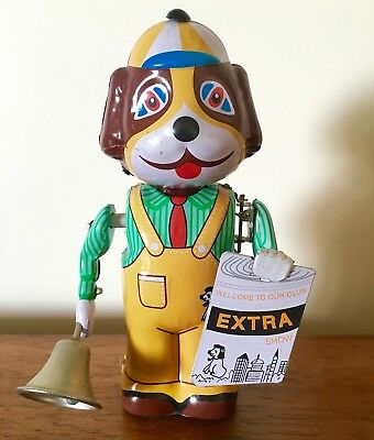 Tin Toy Retro Dog