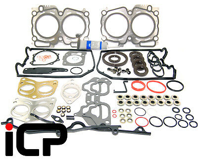 Full Engine Gasket Kit & Sealant Fits: Subaru Turbo 98-00 WRX STi P1 GT RB5