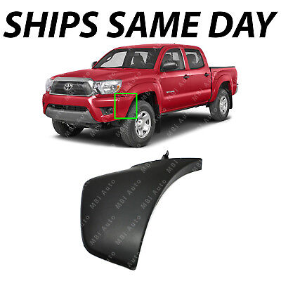 Left Right LH RH Bumper Corner Covers for 2016-2019 Toyota Tacoma NEW Textured