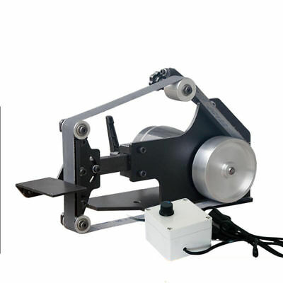 220V Desktop Belt Sander DIY Woodworking Polishing Machine Belt Machine 7500RPM