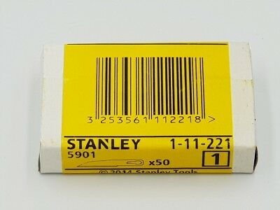 50 pack - Genuine STANLEY 5901 craft tools 1-11-221 BRAND NEW & SEALED