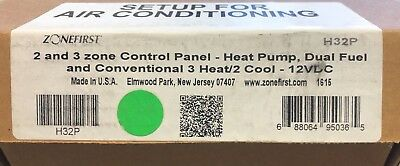 NEW Zonefirst H32P 2 and 3 Zone Control Panel FREE SHIPPING