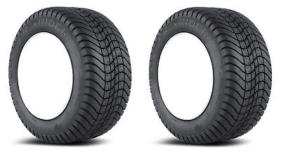 2x Efx Pro-Rider 215-65-10R Golf Cart Tires 6P 6-Ply Radiale 20.5 ""