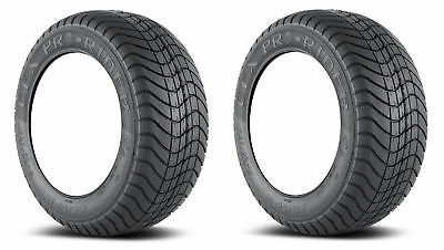 2x Efx Pro-Rider 205-50-10 Golf Cart Tires 4P 4-Ply Sbieco 17.5 ""