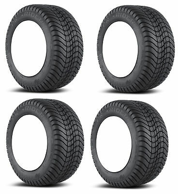 4x Efx Pro-Rider 215-65-10R Golf Cart Tires 6P 6-Ply Radiale 20.5 ""