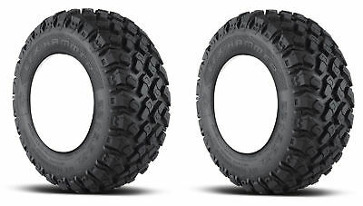 "2x Efx Martello 22x9.5x10 Golf Cart Tires 4P 4-Ply 22 "" Alto"