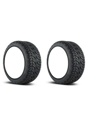 "2x Efx Fushion San 205-30-14 Golf Cart Tires 4P 4-Ply Sbieco 21 "" Alto"