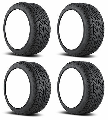 4x Efx Fusion S/T 205-30-12 Golf Cart Tires 4p 4-ply Sbieco 18.5 ""