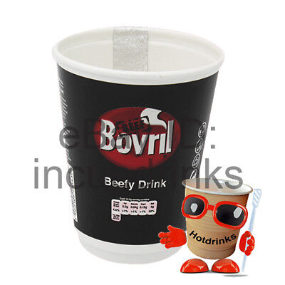 Bovril 2Go In Cup, Incup Drinks, 12oz Foil Sealed [1 Sleeve of 10 Cups]