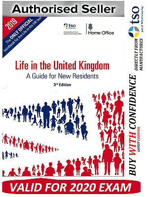 Life in the United Kingdom UK handbook 3rd edition citizenship test book*LF BK