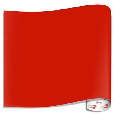 """12"""" x 12"""" Permanent Oracle 651 Adhesive Vinyl  (032) Light Red  6 Sheets"""