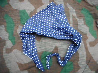 WW2 GERMAN LUFWAFFE FALLSCHIRMJAGER paratrooper para POLKA DOT SCARF normandy fj