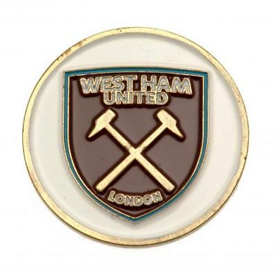 West Ham United FC Official Golf Ball Marker Double Sided