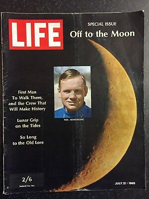 LIFE Magazine - 21st July 1969 - Off To The Moon, Lunar Lab (Atlantic UK Ed)