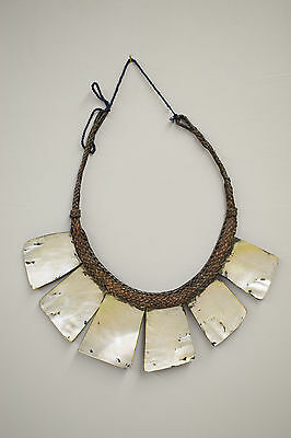 Necklace Shell Mother of Pearl Status Necklace Philippine Ifugao Necklace