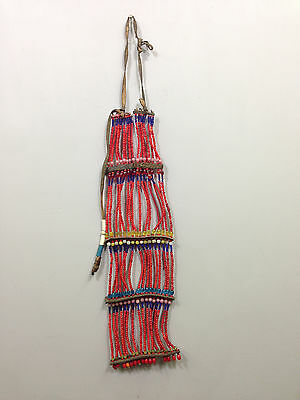 Ethiopian African Beaded Oromo Tribal Necklace
