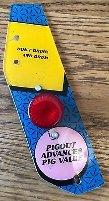 PARTY ANIMAL - Bally Midway Don't Drink And Drum - Playfield Pinball Plastics