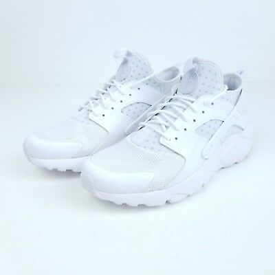 size 40 bfedc d4bef ... new style nike air huarache run ultra mens sneakers triple white 819685  101 size c0653 d1822