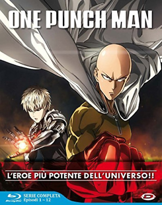 One Punch Man - The Complete Series Box (Eps 01-12) (3 Blu-Ray) - (. BLU-RAY NEW