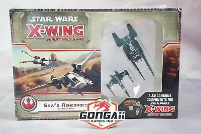 Star Wars X-Wing Miniatures Game: Saw`s Renegades Expansion Pack