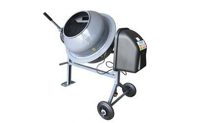 ELECTRIC POWERED Cement Mixer 70L Mixing Concrete, Mortar Or Cement