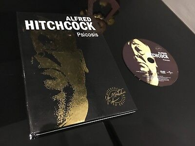 Alfred Hitchcock Libro  + Dvd Psicosis
