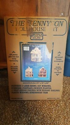Artply The Tennyson Dollhouse Kit Model 99 Vintage New In Box