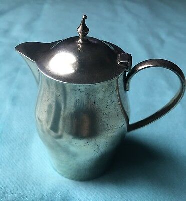 Antique International Silver C-137 Sterling Creamer Revere Design EUC 925