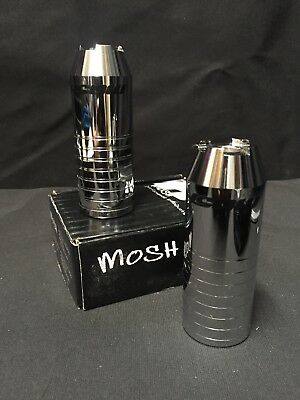 Nos Chrome Mosh Tapered Bmx Freestyle Pegs Mid School Expert XL Pro Xl Rave gt