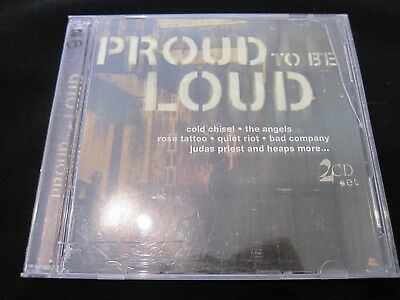 Various Artists - Proud To Be Loud - 2CD - Excellent - NEW CASE!!!